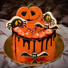 Торт на тему Хэллоуин
