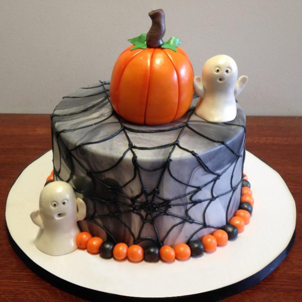 3D торт на Хэллоуин