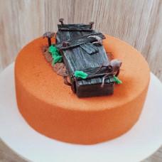 Торт в виде могилы
