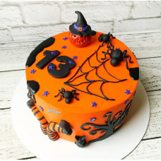 Торт на Halloween ребенку