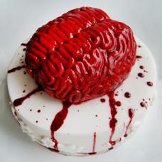 Торт в форме мозга