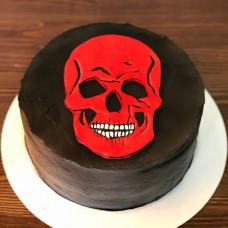 Кремовый торт на Halloween