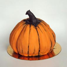 Торт в виде тыквы