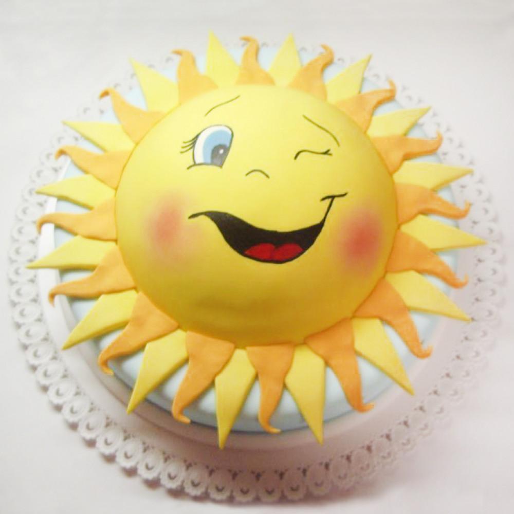 Торт солнце на Масленицу