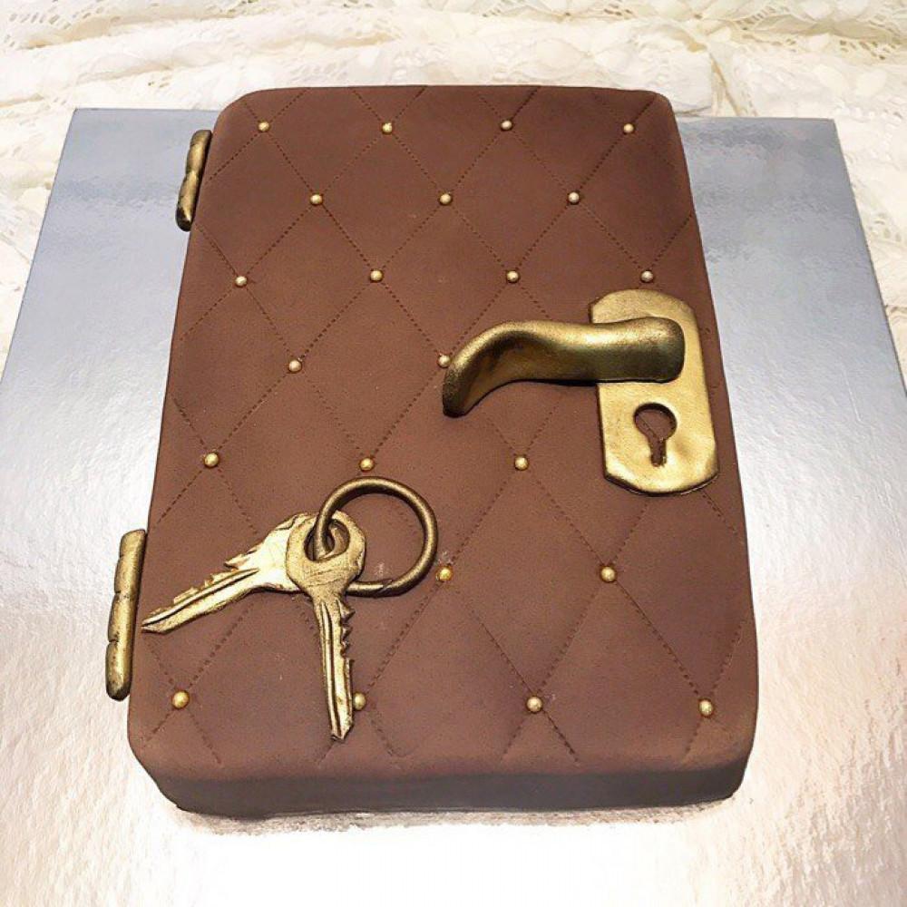 Торт Дверь с ключом