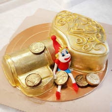 Торт Золотой ключ