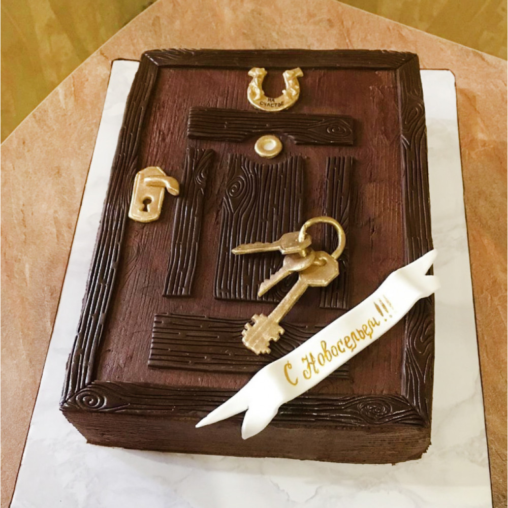 Торт дверь