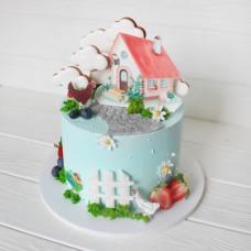 Торт С Новосельем!
