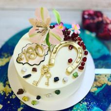 Торт с ключами от дома