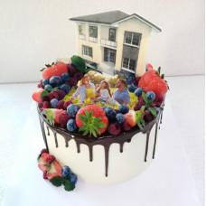 Торт в виде квартиры