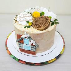 Торт по случаю покупки дома