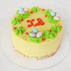 Кремовый торт к Пасхе