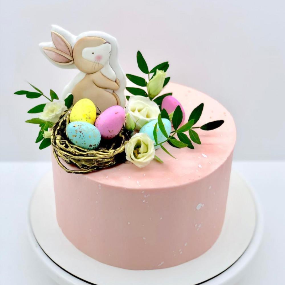 Торт пасхальный заяц