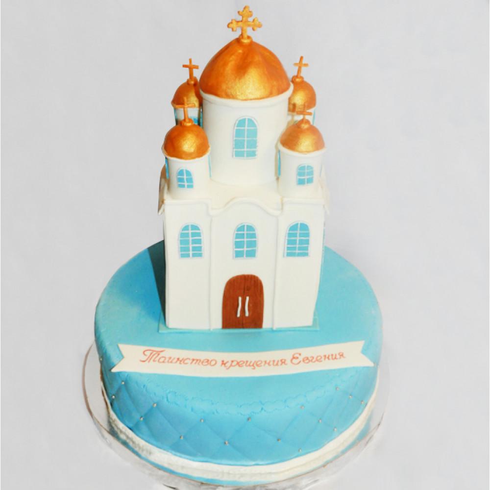 Торт в виде храма