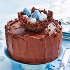 Шоколадный торт на Пасху