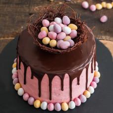 Торт с пасхальными яйцами