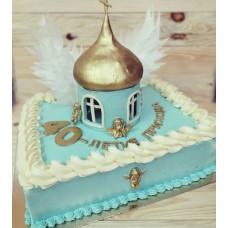 Торт в виде церкви