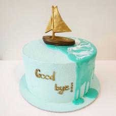 Торт с выходом на пенсию мужчине