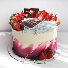 Торт посвященный выходу на пенсию