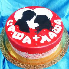 Торт Будь моей женой!
