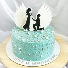 Торт на предложение руки