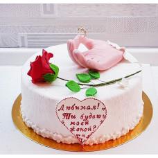 Торт Предложение выйти замуж
