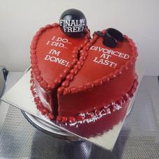 Торт по случаю развода