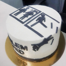 Торт на развод мужчине