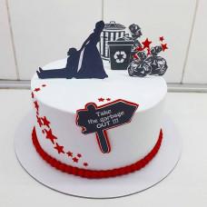 Торт на развод для женщины