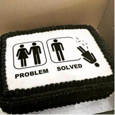 Оригинальный торт на развод