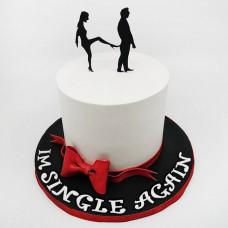 Торт на отмечание развода