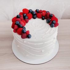 Торт на венчание без мастики