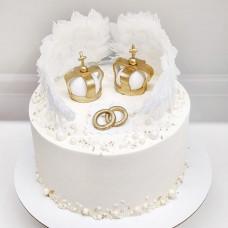 Торт на венчания для друзей