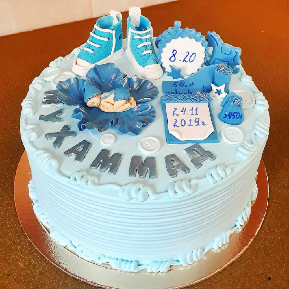 Торт на выписку малыша
