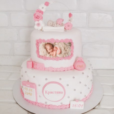 Торт на выписку с фото