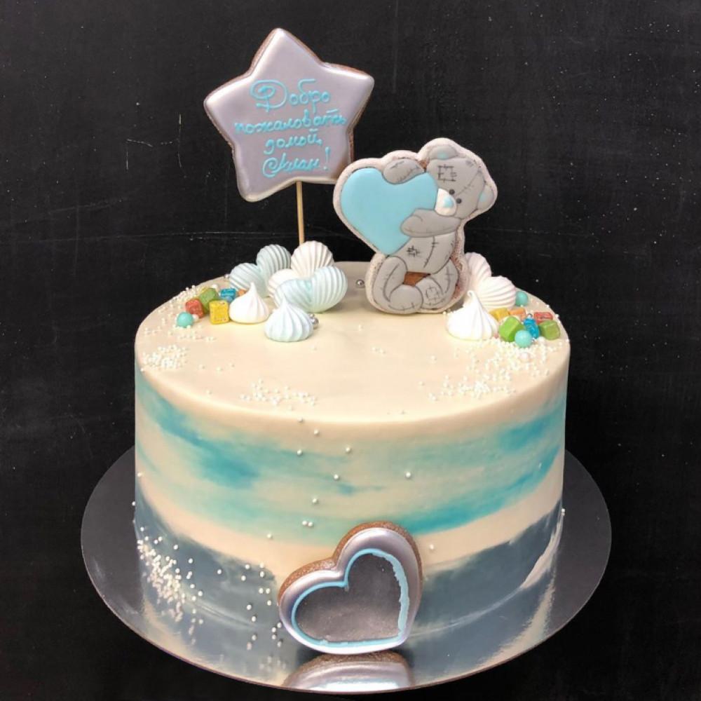 Торт на выписку мальчика