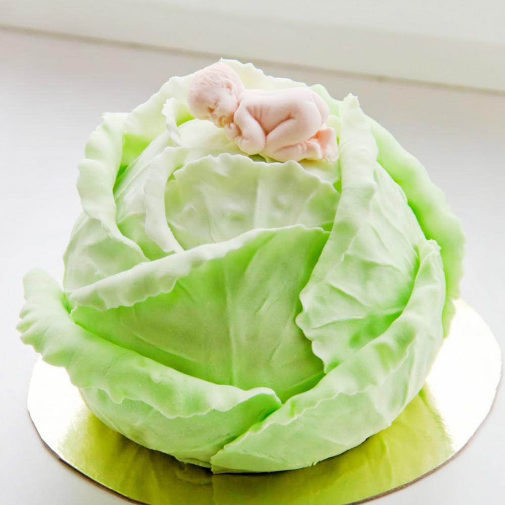торт в виде капусты фото ставит первое место