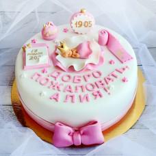 Торт «Спасибо за дочку»