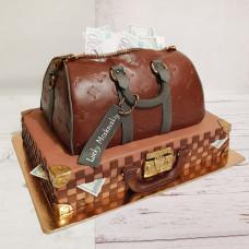 Торт Портфель с деньгами