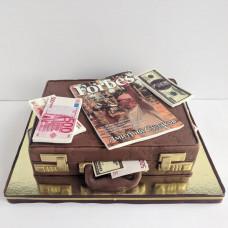 Торт Дипломат с деньгами