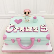 Торт детский чемоданчик