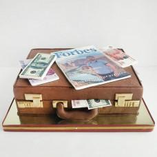 Торт мужчине чемодан