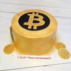 Торт криптовалюта Bitcoin