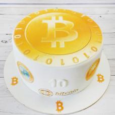 Торт на тему майнинга