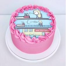 Торт Дом престарелых на день рождения