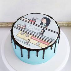 Торт для мужчины Дом престарелых