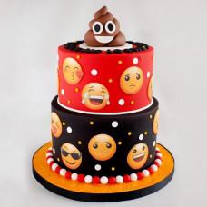 Торт с Emoji