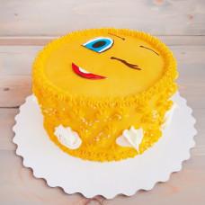 Торт смайлики кремовый