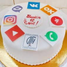 Торт ВК