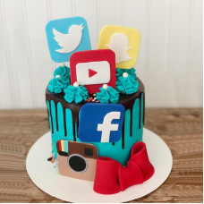Торт для блоггера